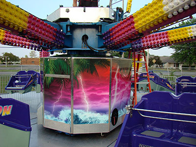 Amusement Ride Wraps