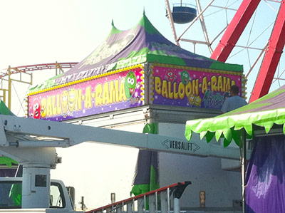 Amusement Concession Wraps
